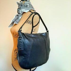 Fossil Genuine Leather Shoulder/Crossbody Bag